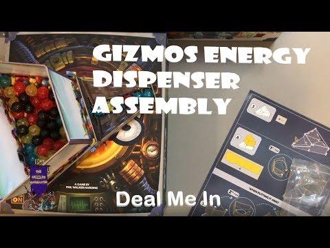 Gizmos Energy Dispenser Assembly - Deal Me In