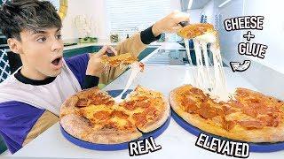 i tested REAL vs. ELEVATED food photo hacks