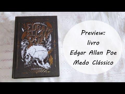 Detalhes da edição do livro Edgar Allan Poe: Medo Clássico, Darkside Books