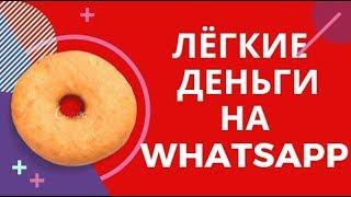 """WhatsappMoney"". Курс Александра Глухаря."