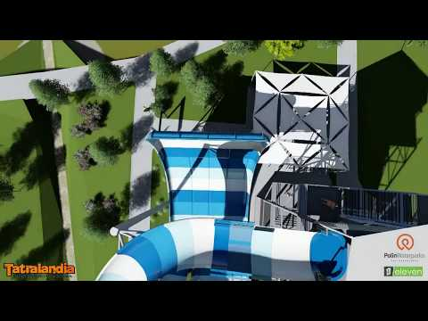 Europe's First Family Turbolance Waterslide - Tatralandia Waterpark, Slovakia