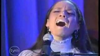 Alicia Keys - Like You'll Never See Me Again Live