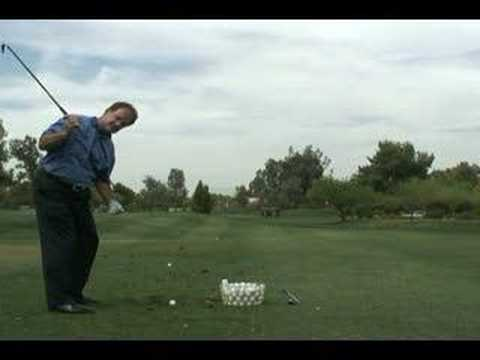 PurePoint Golf Video Lessons – Correct Knee Bend in the Golf Swing