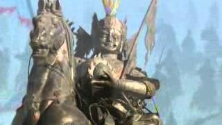 preview picture of video 'Tours-TV.com: Statue of King Gesar'