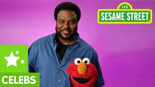 Sesame Street: Elmo and Craig Robinson See a Pattern