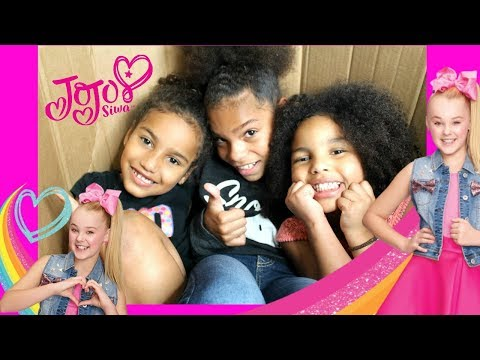 WE Mailed Ourselves In A Box To JoJo Siwa HOUSE and It Worked!