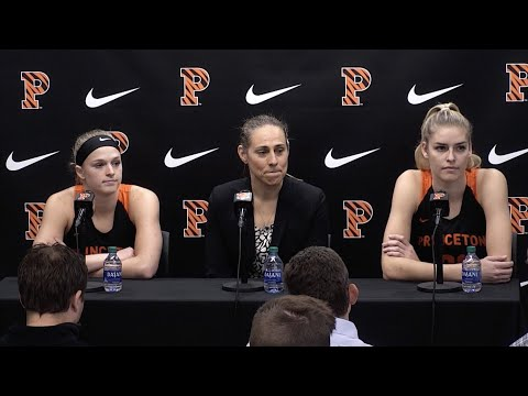 Princeton Basketball Media Day: Women's Press Conference