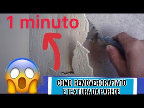 Remover textura da parede