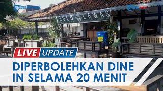 Aturan Baru PPKM Level 4 di Yogyakarta, Pembeli Diperbolehkan Makan Dine In Selama 20 Menit