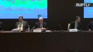Пресс-конференция по итогам заседания совета учредителей WADA в Баку