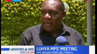 Developing Story: Luhya Mp's drawn from ANC & FORD-K meeting at Kakamega