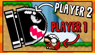 Player 2 Controls the Enemies! | Super Mario World Rom Hack