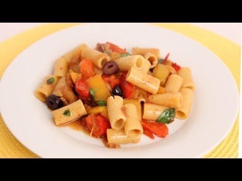 Rigatoni Peperonata Recipe – Laura Vitale – Laura in the Kitchen Episode 561