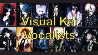 My Top Visual Kei (Vocalists)