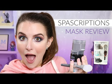Spascriptions Clay + Gel Mask Set Review