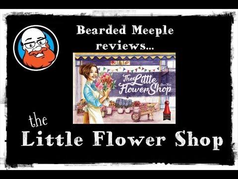 Bearded Meeple reviews : The Little Flower Shop