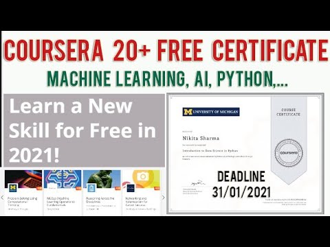Coursera Free Courses With Certificate   Coursera Machine Learning