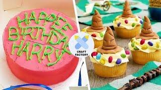 6 Harry Potter Themed Cupcakes   Harry Potter DIYs   Easy Cupcake Recipes   Craft Factory