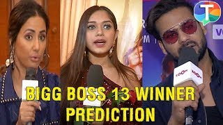 Bigg Boss 13 winner prediction by Hina Khan, Jannat Zubair, Vishal Aditya Singh & other TV Celebs