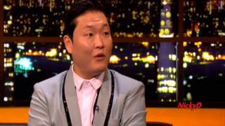PSY Interview + Gangnam Style (Jonathan Ross Show) 10th Nov 2012