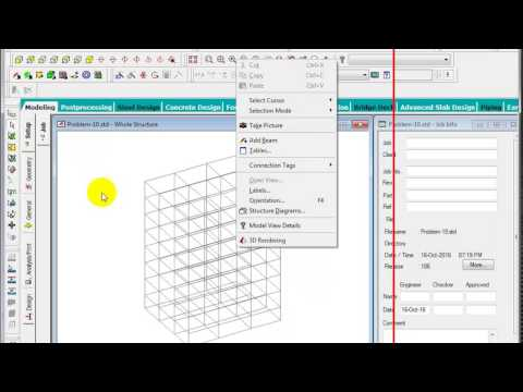 Modeling using Structure Wizard Part 02