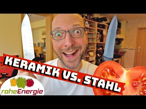 Keramikmesser gegen Stahlmesser 🔪 Die Unterschiede