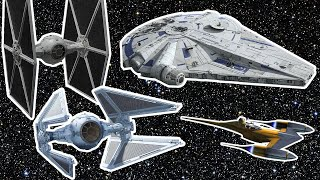 Every Starfighter in Star Wars Explained By Lucasfilm | WIRED