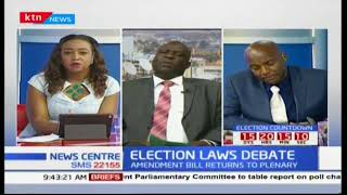 Is the feedback from Kenyans in any way influence the by-products in the electoral law changes?