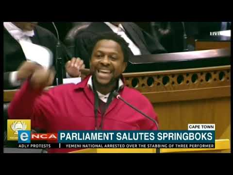 EFF's Mbuyiseni Ndlozi lashes out at Springboks