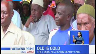 Over 300 elderly people receive medical care and beauty care, event held in Kilifi County