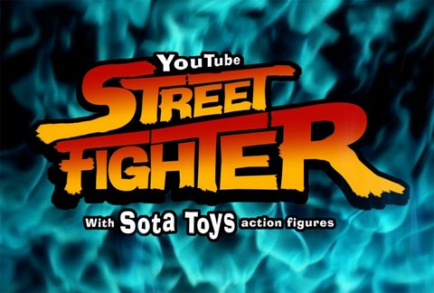 Play Street Fighter With Toys Via YouTube