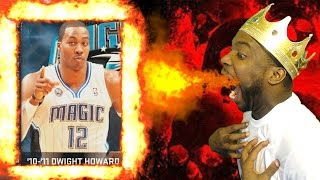 FIRE Onyx Dwight Howard Debut! NBA 2k15 MyTeam Onyx D-12 MONSTER DUNKS! Gameplay Funny