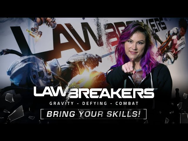 LawBreakers - Best FPS of E3 2017 - Nominee