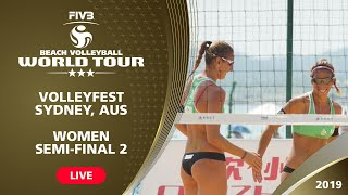 Sydney 3-Star 2019 - Women Semifinal 2 - Beach Volleyball World Tour