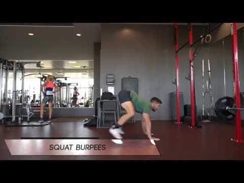 Squat to Burpee