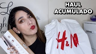 Haul Super Acumulado // DBS; H&M; Paris; Via Uno