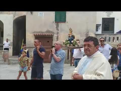 VENTIMIGLIA ALTA FESTEGGIA LA MADONNA DI POLSI E SCOPPIA UN CASO CON INDAGINE DEI CARABINIERI