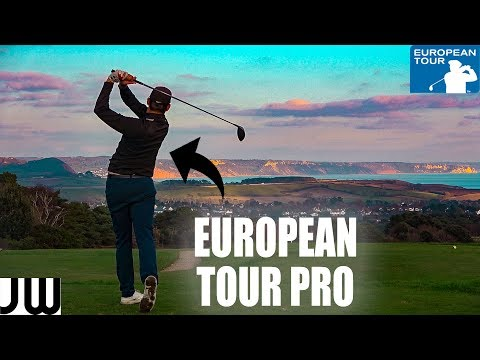Playing Golf with a EUROPEAN TOUR PLAYER!!! | East Devon GC | Part 2