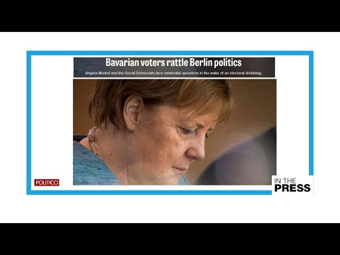 Beginning of the end for 'Mutti'? State election reflects Merkel's unpopularity