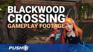Blackwood Crossing PS4 Gameplay: Wake on a Train | PlayStation 4 | Footage