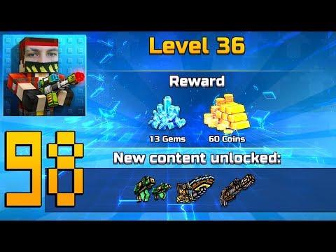 Pixel Gun 3D - Gameplay Walkthrough Part 98 - Level 36