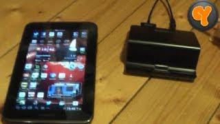Test: Samsung Desktop Dock EDD-D100 für Galaxy Tab 2 7.0 + 10.1 Tablet