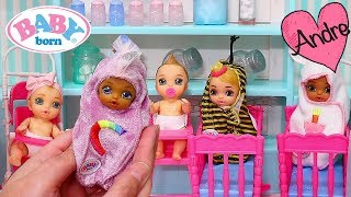 Andre abre Baby Born Surprise de unicornio | Jugando con juguetes para niñas y niños y muñecas bebes