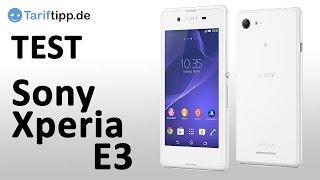Sony Xperia E3 | Test deutsch 4K