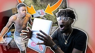DESTROYING BRAND NEW MACBOOK PRANK !!!    *Must Watch!* (GETS ANGRY)