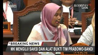 Saksi Prabowo-Sandiaga Melihat Anggota KPPS Coblos 15 Surat Suara di TPS