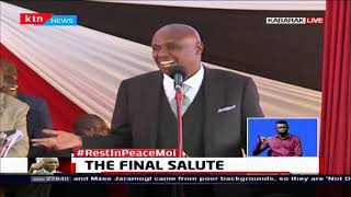 Gideon Moi: Our neighbour flew our father away during the coup