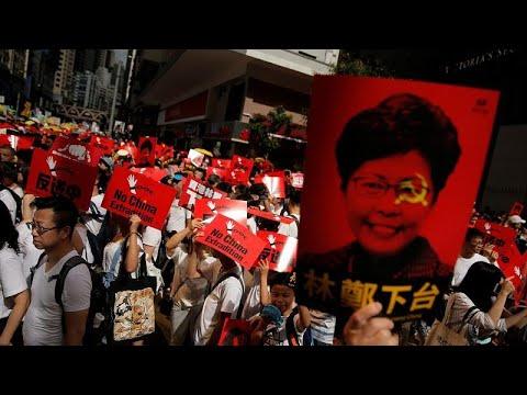 Μαζικές κινητοποιήσεις στο Χονγκ Κονγκ
