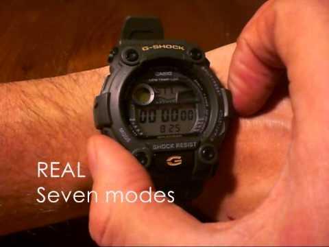 Купить Casio G-Shock G-7900-3/G-7900-3ER - мужские