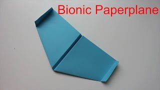 How To Make A Bionic PaperPlane That Flies Like A Bird